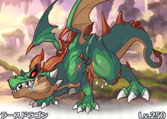 ドラゴン ワンパン ラース